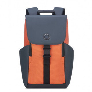 "Delsey Secureflap Sac à Dos PC 15.6"" orange"