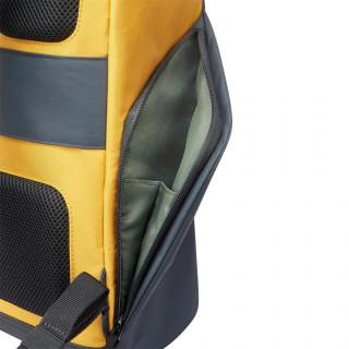 """Delsey Secureflap Sac à Dos PC 15.6"""" Jaune"""