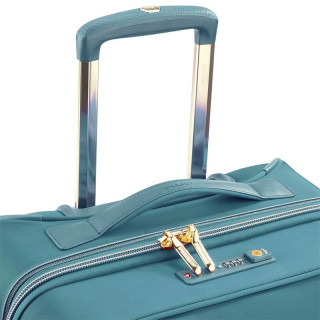valise cabine extensible vert Delsey