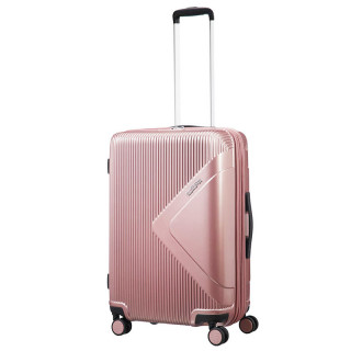 American Tourister Modern Dream 69 cm Valise Extensible Trolley 4 Roues Rose Gold