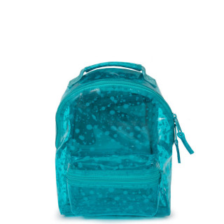 Eastpak Orbit Sac à Dos XS Transparent Crystal a70 Splash Lagoon