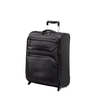 Jump Moorea Soft Valise Cabine 55cm Extensible 2 Roues Noir