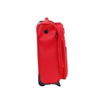 Jump Moorea Soft Valise Cabine 55cm Extensible 2 Roues Piment