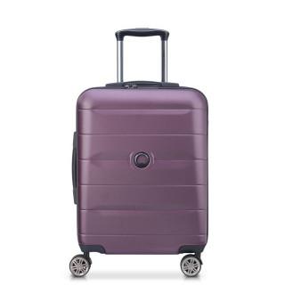 Delsey Comete+ Valise Cabine Trolley Slim Avec Système TSA 55cm Violet 2