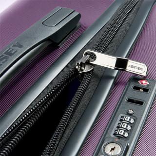 Delsey Comete+ Valise Trolley 4 Double Roues Système TSA 77cm Violet