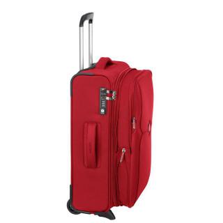 Delsey Mercure Valise Cabine Slim Extensible 55 cm Rouge