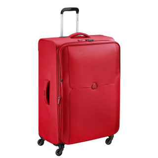 Delsey Mercure Valise Extensible Trolley 4 Roues 78 CM Rouge