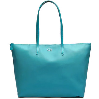 Lacoste Grand Sac Cabas Zippé L12.12 Green Blue Slata