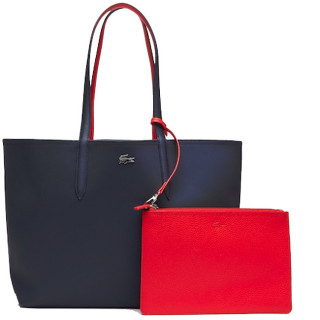 Lacoste Sac Cabas Reversible Anna Peatcoat Salsa