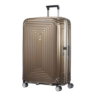Samsonite Neopulse 75cm Valise Trolley 4 roues Metallic Sand
