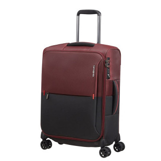 Delsey Rythum Valise Cabine 4 Double Roues 55CM Burgundy