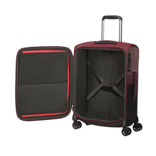 Delsey Rythum Valise Cabine 4 Double Roues 55CM Burgundy 2