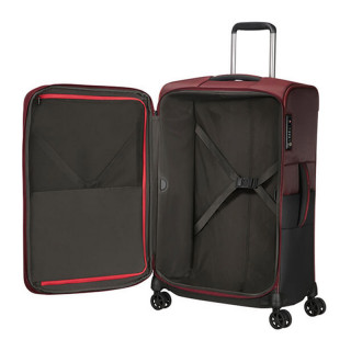 Delsey Rythum Valise Cabine Extensible 4 Double Roues 67CM Burgundy