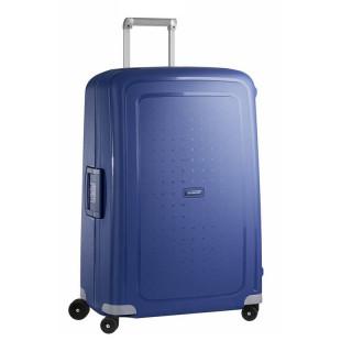Samsonite S'Cure Spinner 75 cm Valise Trolley 4 Roues Bleu Foncé
