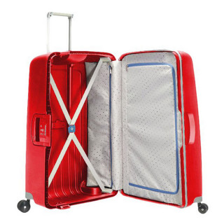 Samsonite S'Cure Spinner 75 cm Valise Trolley 4 Roues Rouge Cramoisi