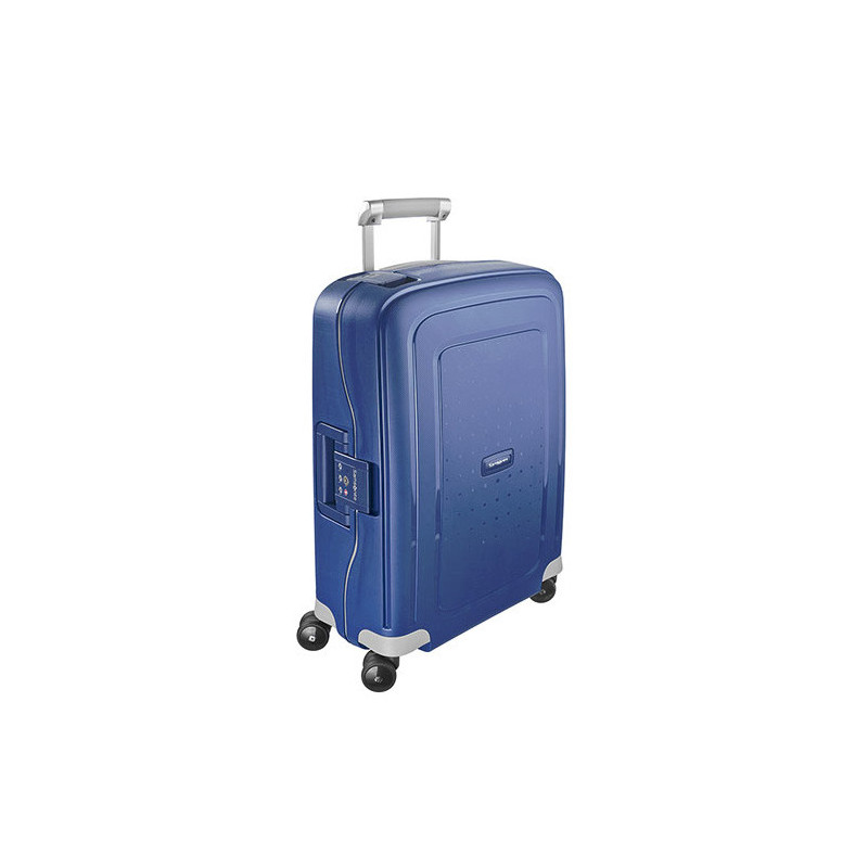 Samsonite S'Cure Spinner 55 cm Valise Cabine Trolley 4 Roues Dark Blue cote