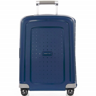 Samsonite S'Cure Spinner 55 cm Valise Cabine Trolley 4 Roues Dark Blue
