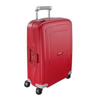 valise rigide cabine Samsonite rouge