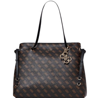 Guess Digital Sac Shopping Brown