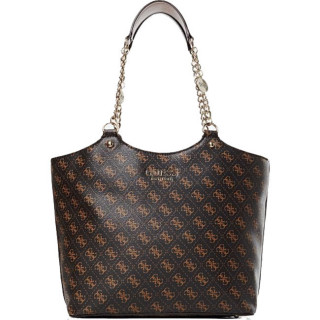 Guess Lorenna Sac Shopping Epaule Brown