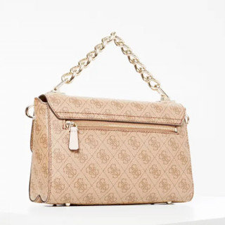Guess Candace Sac Bandouliere 4G Brown Multi