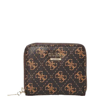 Guess Lorenna Portefeuille Compact Brown