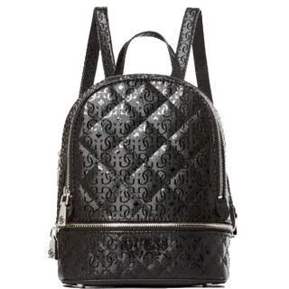 Guess Queenie Imprimé Mini Sac à Dos Black