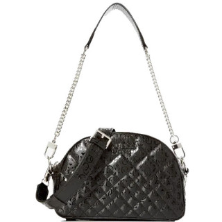 Guess Queenie Logo Mini Sac bandoulière Black