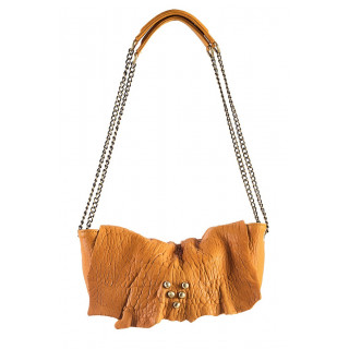 Virginie Darling Pochette Mini Wild Bubble Safran