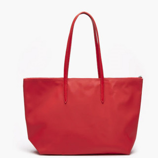 Lacoste Grand Sac Cabas Zippé L12.12 High Risk Red