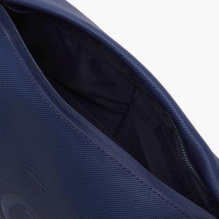 Lacoste L12.12 Trousse de Toilette Zippée Blue Depths ouvert
