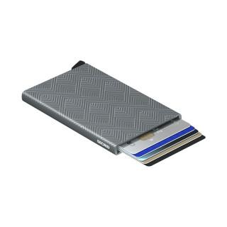Secrid Porte-Carte Cardprotector Laser Structure Titanium