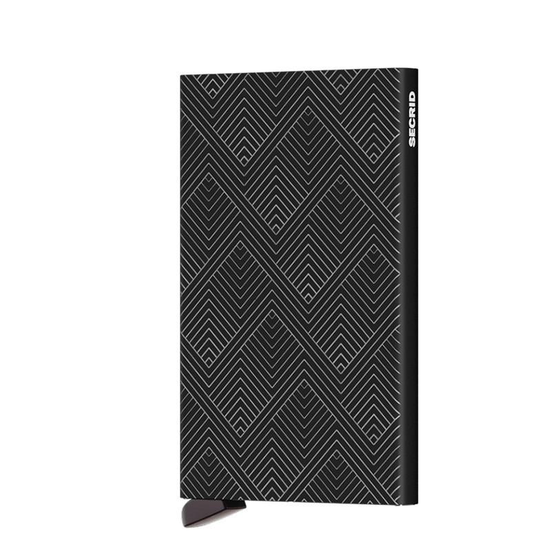 Secrid Porte-Carte Cardprotector Laser Structure Black