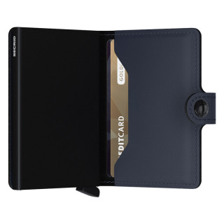 Secrid Porte-Carte Miniwallet Matte Night Blue