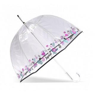 Isotoner Parapluie Droit PVC Manuel Tropical