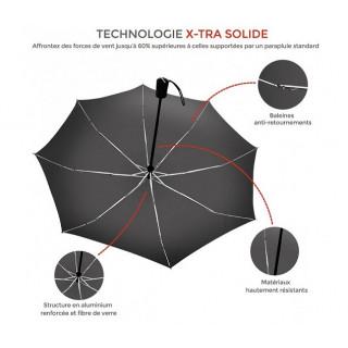 Isotoner Parapluie Pliant Automatique X-TRA Solide Sweet Paris