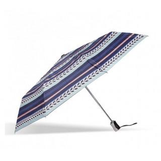 Isotoner Parapluie Pliant Automatique X-TRA Solide Rayure Lys
