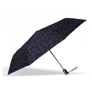 Isotoner Parapluie Pliant Automatique X-TRA Solide Pois Carnaval
