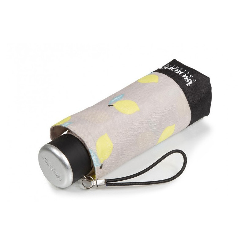 Isotoner Parapluie Mini Pliant Citrons