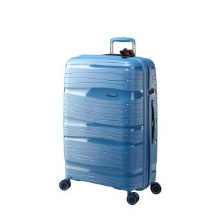 Jump Tenali Valise 67 cm Ultralight 4 Roues Bleu Azur