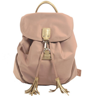 Lancaster Basic Sport Pompon Sac A Dos 514-42 Nude Champagne