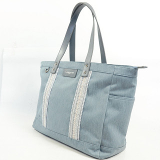 Lancaster Actual Elia Sac Shopping 518-77 Bleu Gris