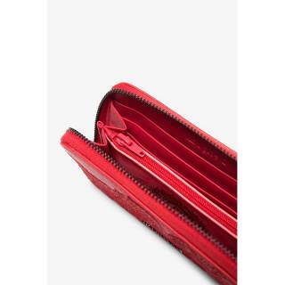 Desigual Melody Mini Porte-monnaie Fleuri Rouge