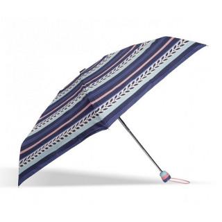 Isotoner Parapluie Mini Pliant Automatique Rayure Lys