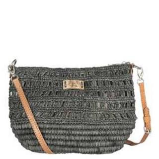 L'Atelier Du Crochet Steloa Sac trotteur Maille Fantaisie Gris