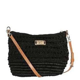 L'Atelier Du Crochet Steloa Sac trotteur Maille Fantaisie Noir