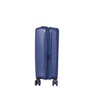 Jump Tanoma Valise Cabine Universelle 4 Roues 55cm Extensible Marine