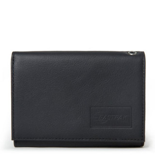 Eastpak Crew Single Portefeuille Black Ink Leather