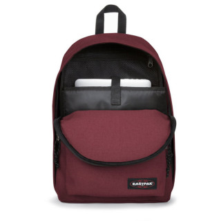 """Eastpak Out Of Office Sac à Dos PC 15"""" 23s Crafty wine ouvert"""