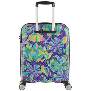 American Tourister Wavebreaker X Shanti  55 cm Valise Cabine Trolley 4 Roues Hummingbird